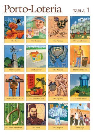 Porto-Lotería Game Board