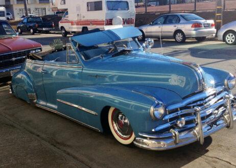 Beautiful Blue Vintage Car