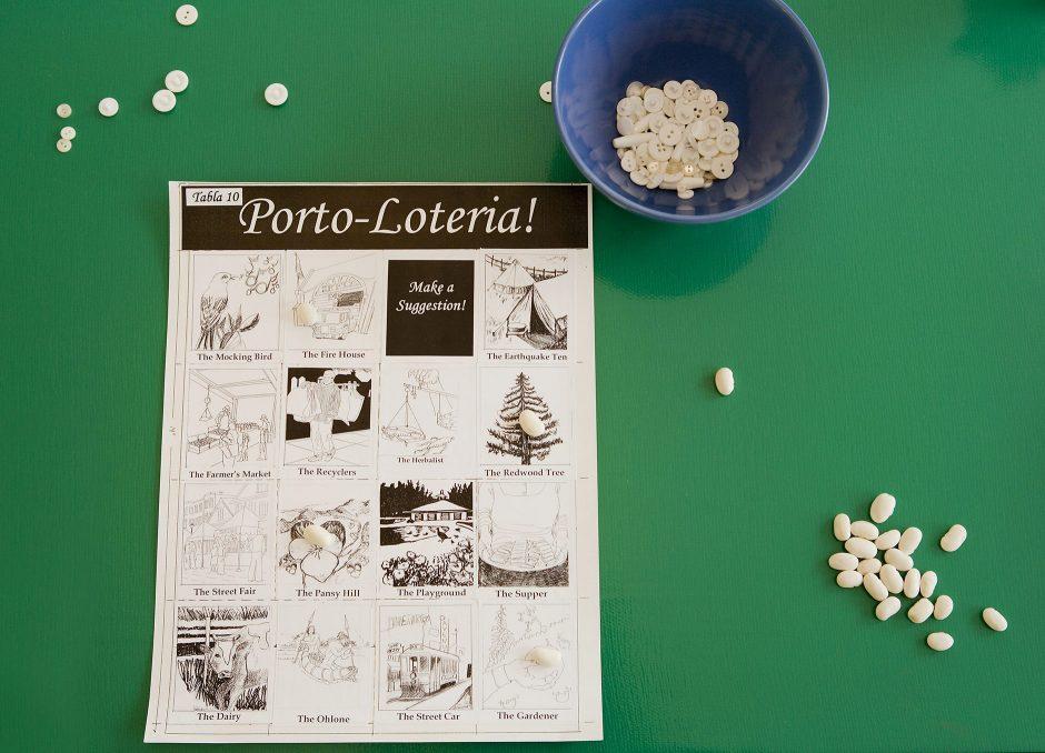 Draft Porto-Lotería game board